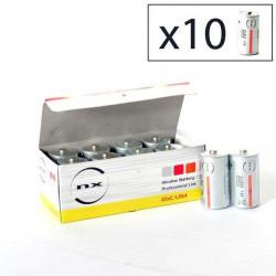 ENIX ENERGIES Boite 10 piles Alcaline LR14 NX 1,5V 9,3Ah