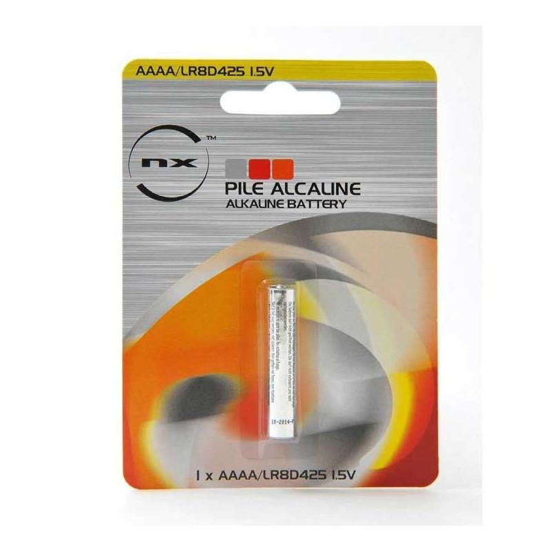 ENIX ENERGIES Blister 1 Pile Alcaline LR61 AAAA NX 1.5V 625mAh