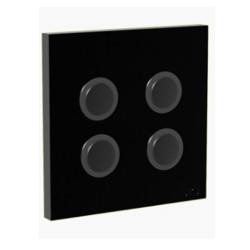 DIO - Interrupteur 868 Mhz  4 canaux noir