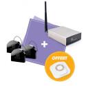 JEEDOM - Pack volets roulants Jeedom Smart (3x FGR-223 + télécommande Octan offerte)