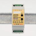 EUTONOMY - Adaptateur euFIX DIN pour Fibaro FGS-223 (avec boutons)