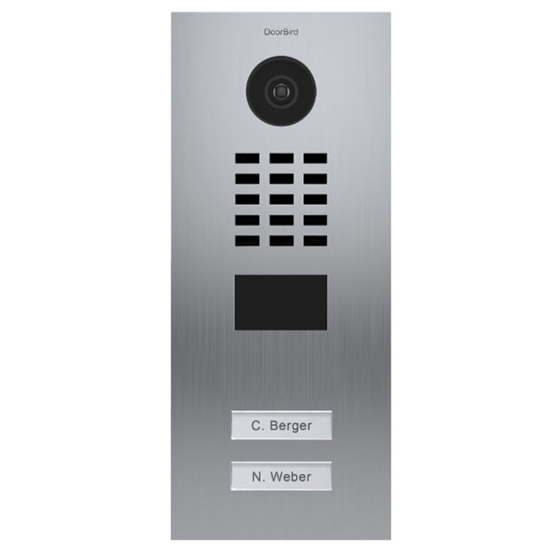 DOORBIRD - Portier vidéo connecté encastré D2102V