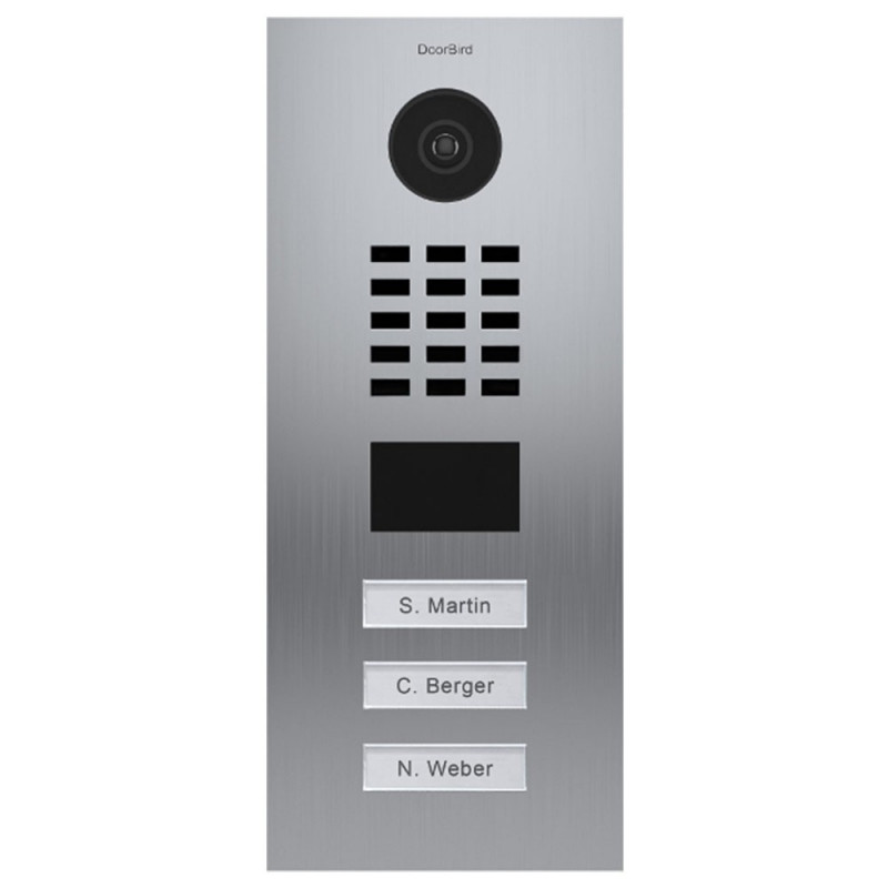 DOORBIRD - Portier vidéo connecté encastré D2103V