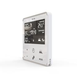 HELTUN - Thermostat Z-Wave+ pour chauffage électrique (blanc)