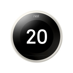 GOOGLE NEST - Thermostat Intelligent 3ème génération, blanc