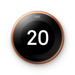 GOOGLE NEST - Thermostat Intelligent 3ème génération, cuivre