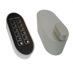 POLY-CONTROL Pack Serrure motorisée et clavier sans fil Z-Wave