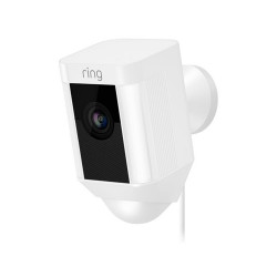 RING - Caméra filaire Spotlight Blanche