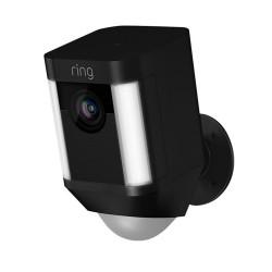 RING - Caméra sur Batterie Spotlight Noire