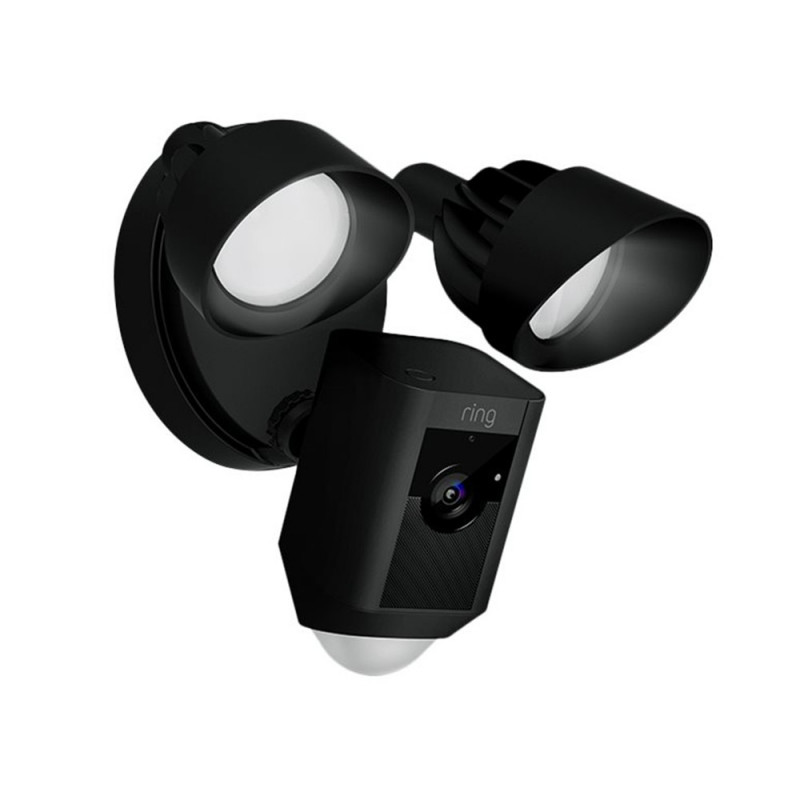 RING - Caméra filaire Floodlight Noire