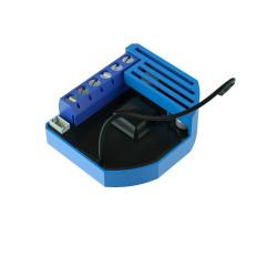 QUBINO - Micromodule pour volet roulant 12-24VDC et consomètre Z-Wave+ ZMNHOD1 Flush Shutter DC