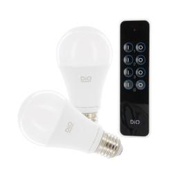 DiO - Kit 2 ampoules et télécommande