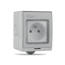 KONYKS - Prise électrique extérieure connectée Wi-Fi Pluviose