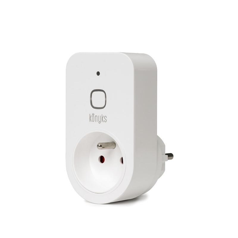 KONYKS - Prise connectée Wi-Fi avec mesure d'énergie Priska+