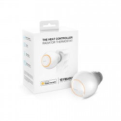 FIBARO - Tête thermostatique Bluetooth HomeKit Fibaro Heat Controller