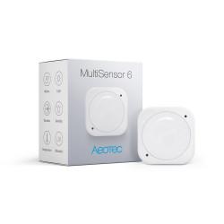 AEOTEC - Détecteur multifonctions 6 en 1 MultiSensor Z-Wave Plus (GEN5)