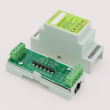 EUTONOMY - Adaptateur euFIX DIN pour Fibaro FGR-222 (sans boutons)
