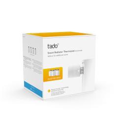 tado° Tête Thermostatique Intelligente - Pack Quattro, accessoire pour le contrôle de chauffage multi-pièces