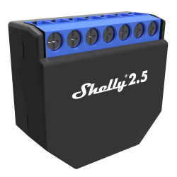 SHELLY - Micromodule intelligent Wi-Fi 2 sorties Shelly 2.5