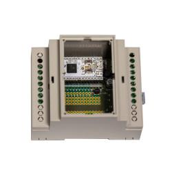 Z-WAVE.ME - Carte de développement Z-Wave+ Z-Uno avec boitier Rail DIN (Z-Uno Shield)