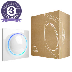 FIBARO - Interrupteur variateur intelligent Z-Wave+ Fibaro Walli Dimmer