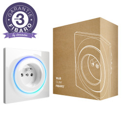 FIBARO - Prise murale intelligente Z-Wave+ Fibaro Walli Outlet type E