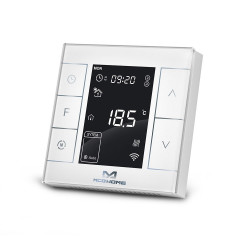 MCOHOME - Thermostat pour chauffage électrique Z-Wave+ MH7H-EH2, blanc