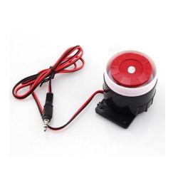 Sirène d'intérieur 120 DB pour Alarme GSM avec connecteur Jack 3,5 mm