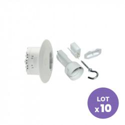 SCHNEIDER ELECTRIC - Actionneur éclairage DCL boîte de centre Ø80mm (lot de 10) ODACE SFSP
