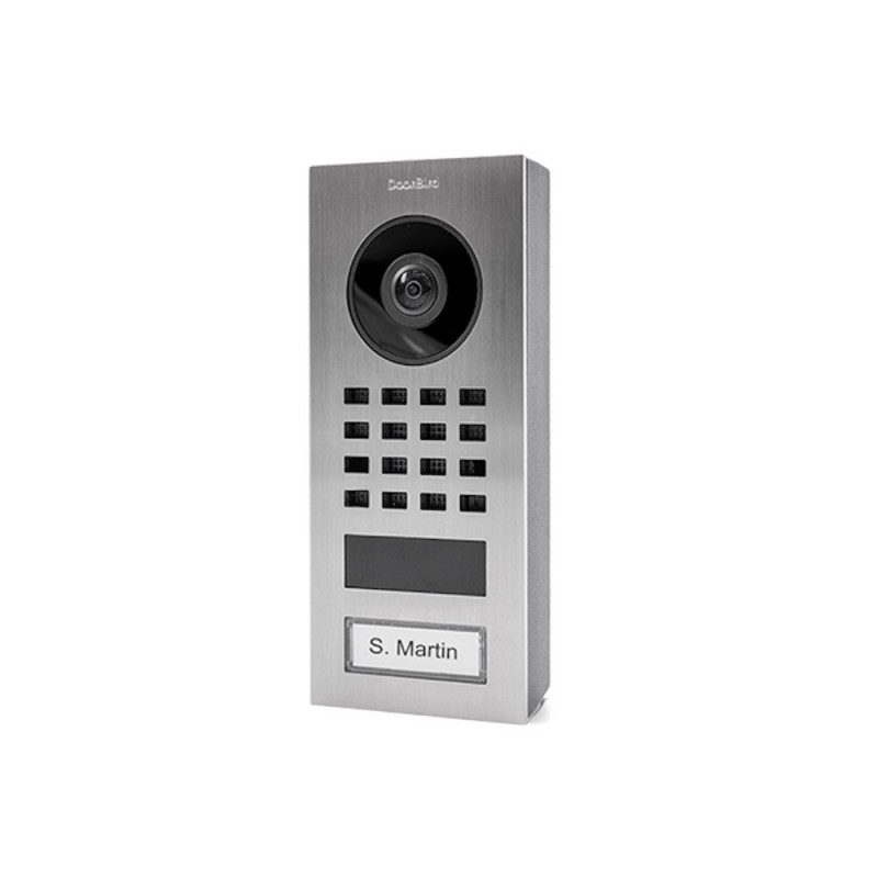 DOORBIRD - Portier vidéo connecté (montage en surface) D1101V