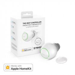 FIBARO - Pack Tête thermostatique Bluetooth HomeKit et capteur de température
