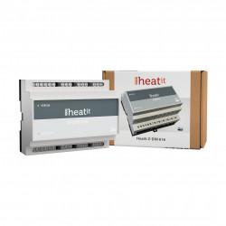 HEATIT CONTROLS - Module 6 relais contact sec rail DIN Z-Wave+ Z-Din 616