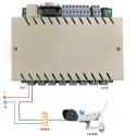 KINCONY - Contrôleur filaire ETHERNET/RS232 (8 entrées/8 sorties)