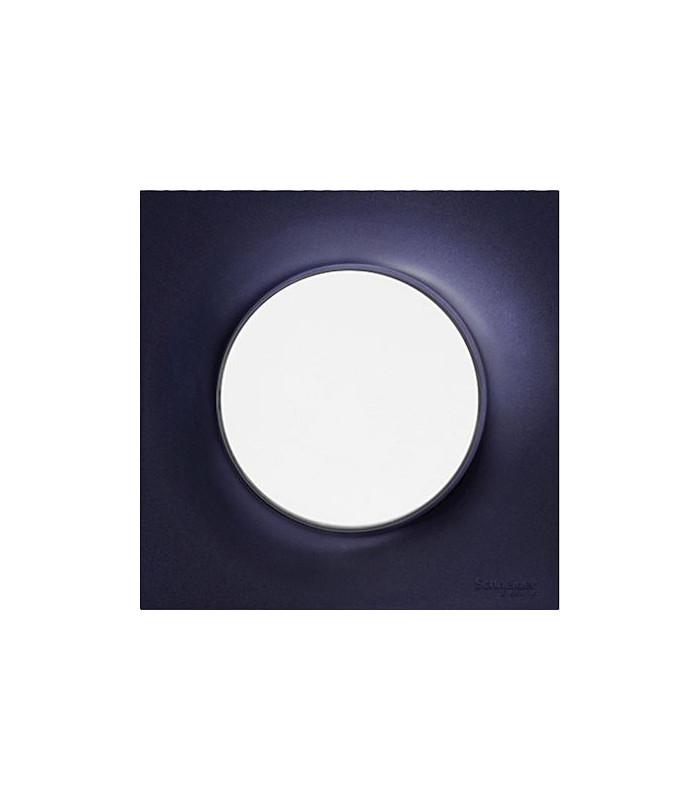 SCHNEIDER ELECTRIC Plaque de finition ANTHRACITE pour interrupteur ODACE