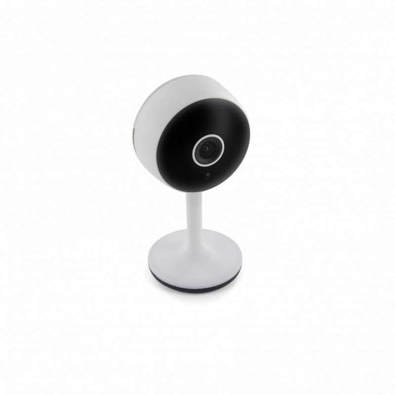 CHACON - Caméra intérieure Wi-Fi HD 1080p compatible Google Home et Amazon Echo