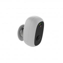 CHACON - Caméra extérieure sans fil Wi-Fi HD 720p compatible Google Home et Amazon Echo