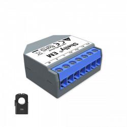 SHELLY - Compteur d'énergie monophasé Wi-Fi Shelly EM avec une pince ampéremétrique 50A