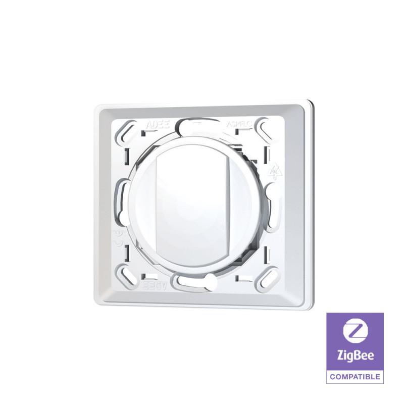 TRIO2SYS - Interrupteur mural Zigbee 1 bouton compatible CELIANE