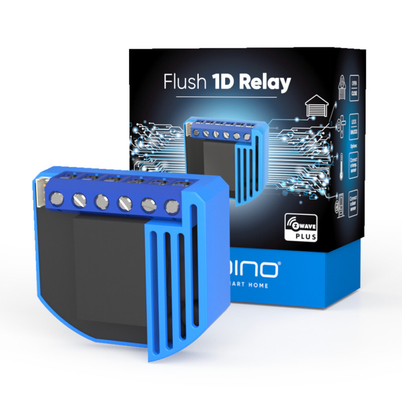 QUBINO - Micromodule contact sec Z-Wave+ ZMNHND1 Flush 1D Relay