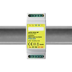 EUTONOMY - Adaptateur euFIX DIN pour Fibaro Double Smart Module FGS-224 (sans boutons)