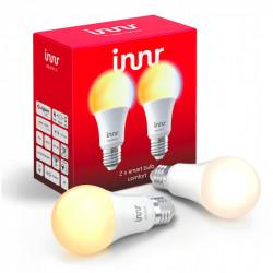 INNR - Ampoule connectée type E27 - ZigBee 3.0 - Pack de 2 ampoules - Blanc réglable - 2200K à 5000K