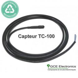 RECONDITIONNE-GCE Electronics Capteur de température TC-100, 2m
