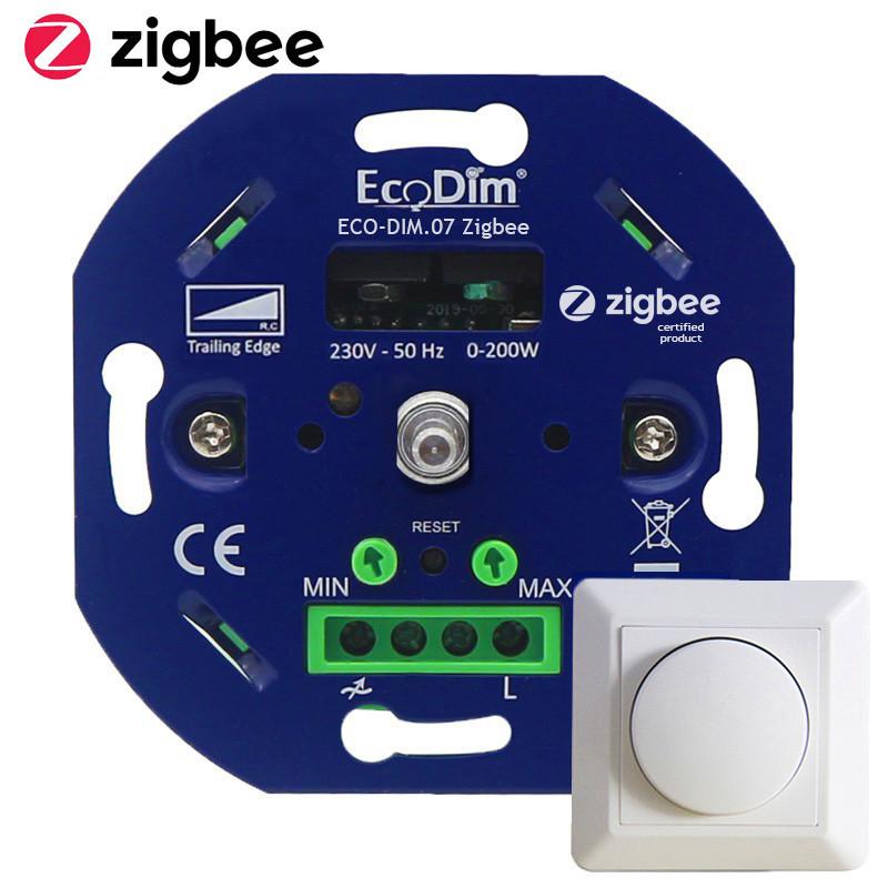 ECODIM - Interrupteur variateur rotatif Zigbee 3.0 200W