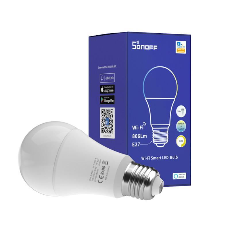 SONOFF - Ampoule intelligente WIFI Chaud/Froid Format E27