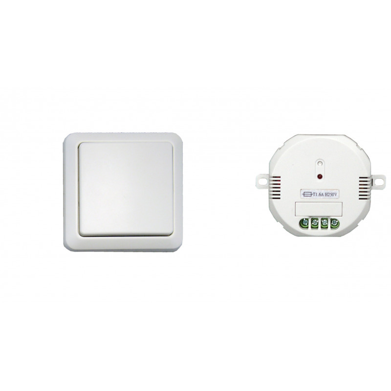 DiO - Interrupteur mural sans fil + module ON/OFF 1000W