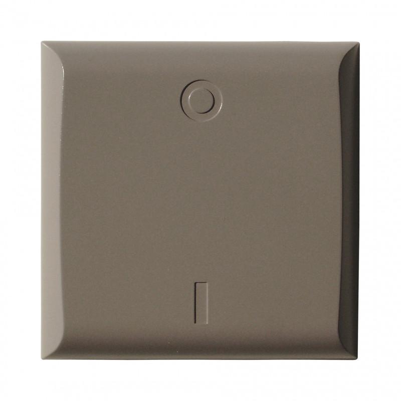 DiO - Cache interrupteur couleur taupe