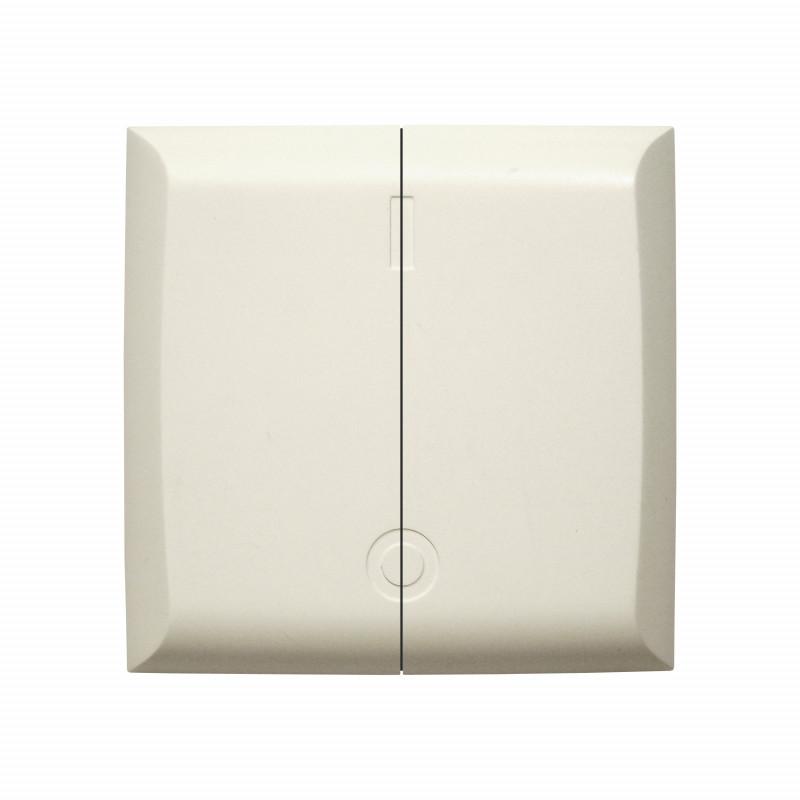 DiO - Interrupteur double sans fil blanc