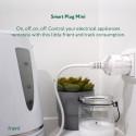 FRIENT - Prise intelligente mini avec mesure de consommation Zigbee HA - Version FR