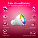 INNR - 2x Ampoule connectée type GU10 ZigBee 3.0 RGBW+Blanc réglable