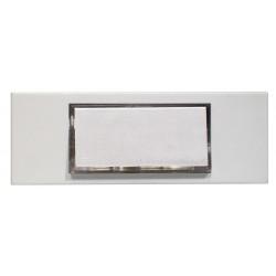 CHACON Bouton poussoir filaire avec lampe intégrée blanc 24VDC